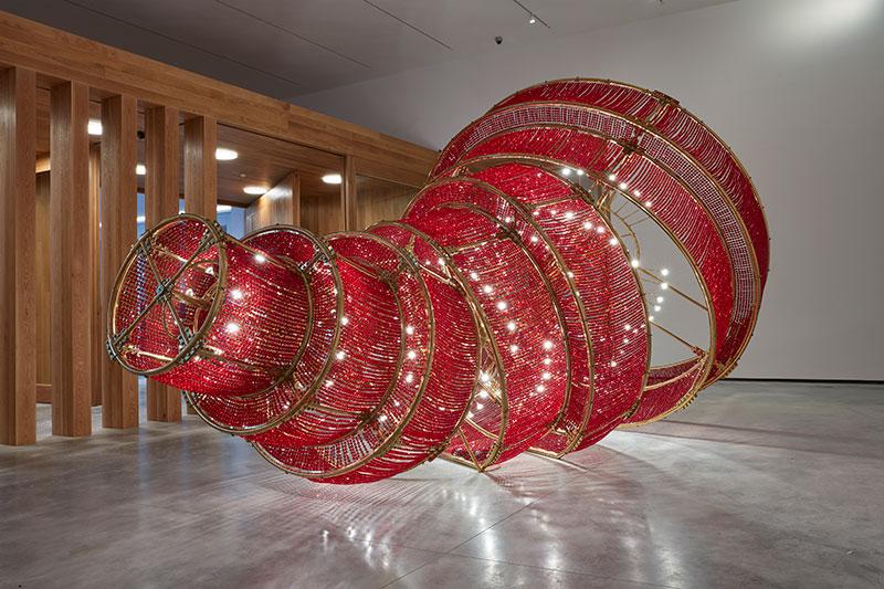 'Descending light' (2007). Ai Weiwei. Foto: Museo Helga de Alvear