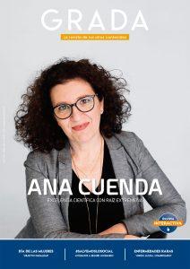 Ana Cuenda. Excelencia científica con raíz extremeña. Grada 154. Portada