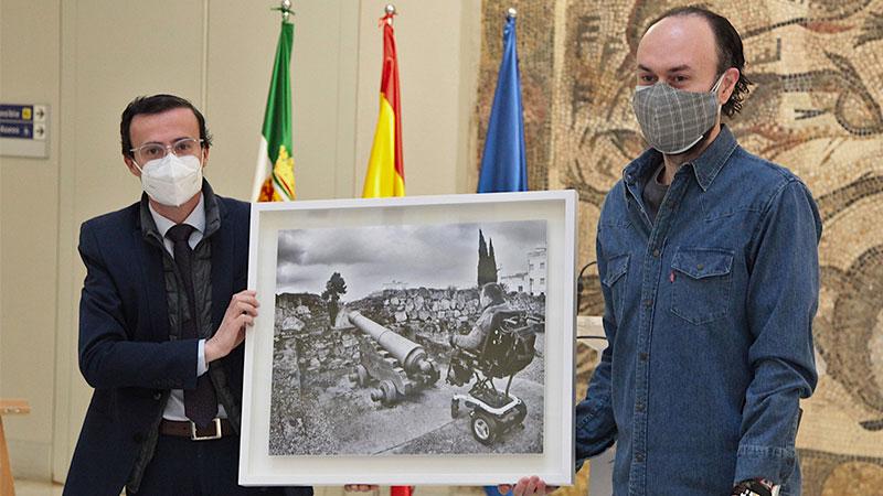 Fotografía ganadora, 'Defendiendo la ilusión'. Foto: Diputación de Badajoz