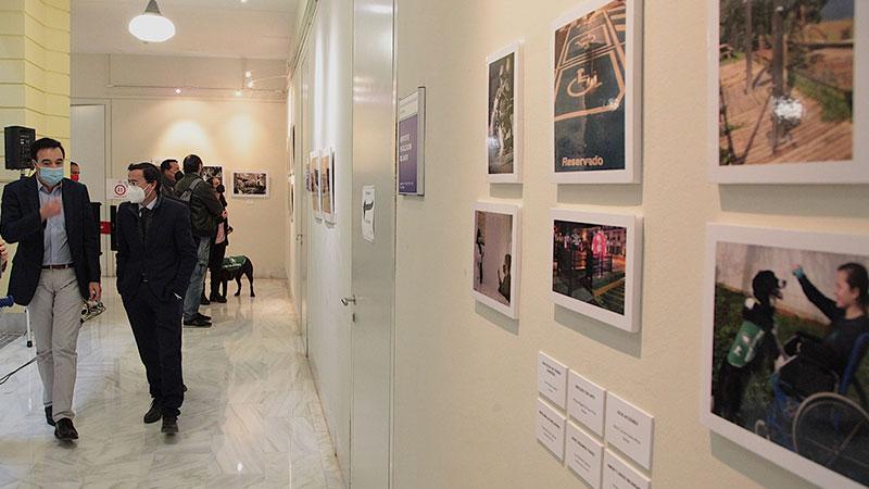 Exposición de las fotografías. Foto: Diputación de Badajoz