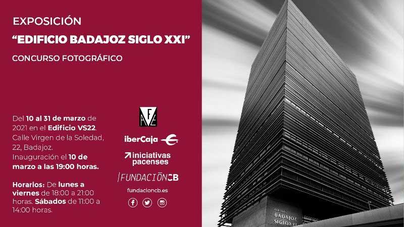 Exposición del concurso fotográfico 'Edificio Badajoz Siglo XXI' en Badajoz