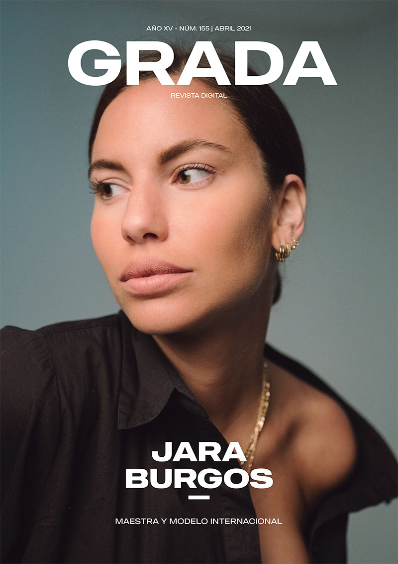 Jara Burgos. Modelo internacional y maestra vocacional. Grada 155. Portada