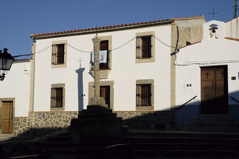 Crucero de la ermita de Santa Filomena. Foto: Cedida