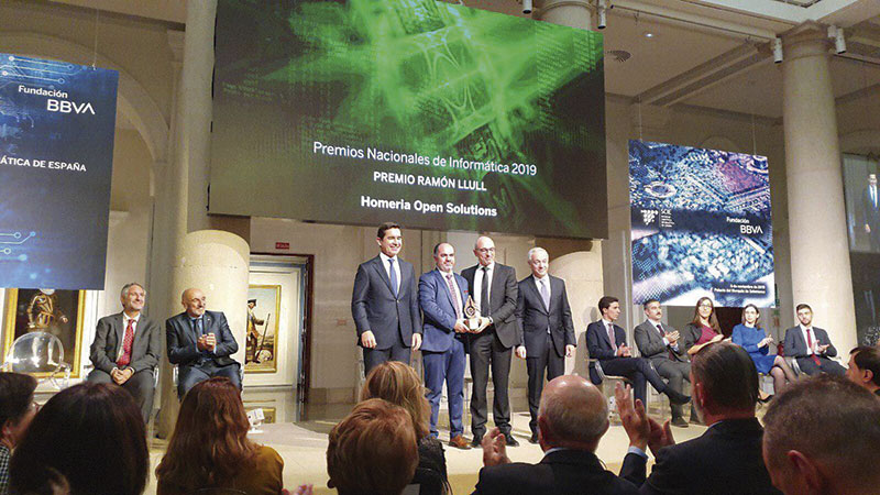 Entrega del Premio Ramón Llull. Foto: Cedida