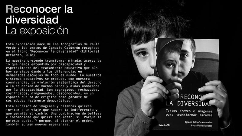 Cartel de la exposición 'Reconocer la diversidad'