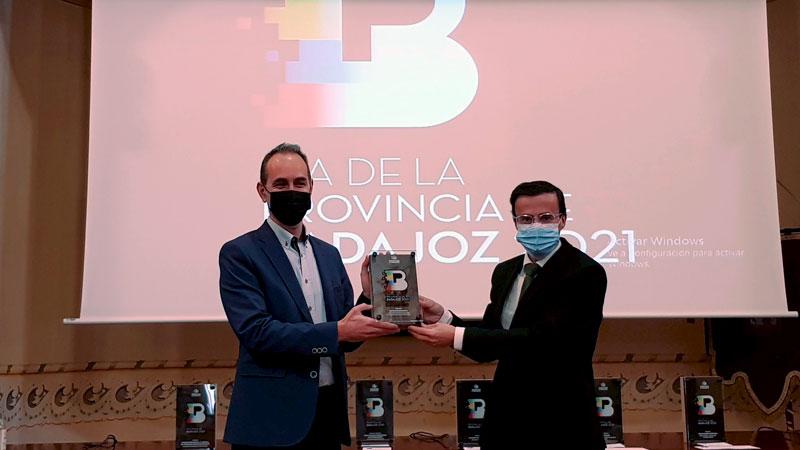 Premio 'Emprendimiento'. Foto: Diputación de Badajoz