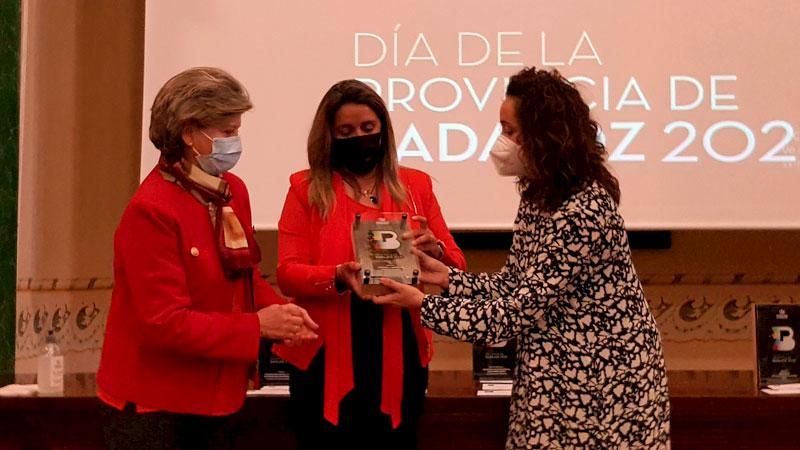 Premio 'Cultura y Deportes'. Foto: Diputación de Badajoz