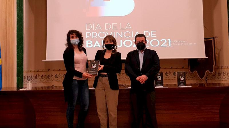 Premio 'Economía verde y circular'. Foto: Diputación de Badajoz