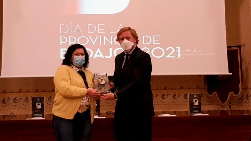 Premio 'Igualdad'. Foto: Diputación de Badajoz