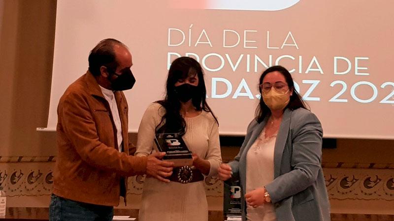 Premio 'Integración social y laboral de personas con discapacidad'. Foto: Diputación de Badajoz