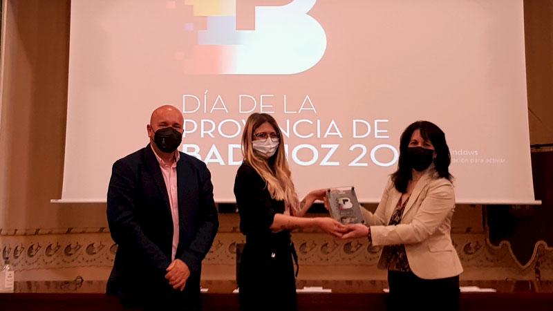 Premio 'Innovación turística'. Foto: Diputación de Badajoz