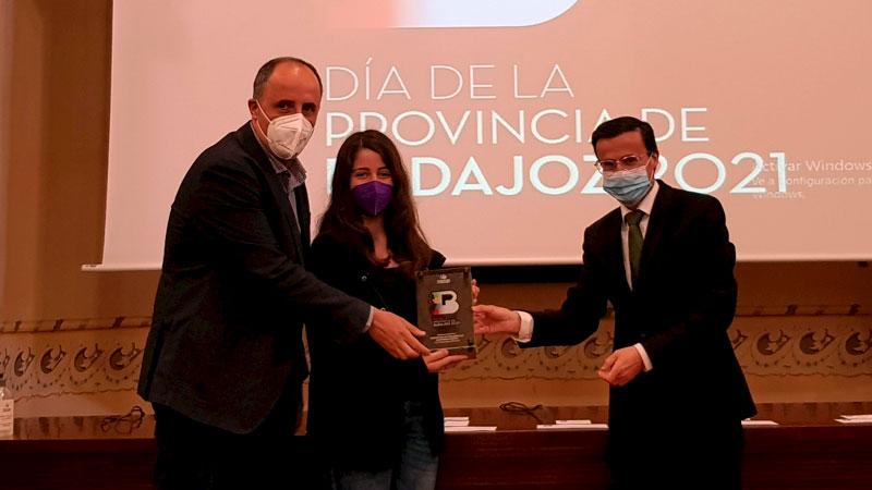Premio 'Objetivos de Desarrollo Sostenible'. Foto: Diputación de Badajoz