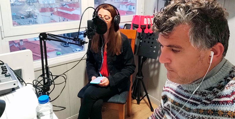Susana Mangut y Daniel López. Foto: Cedida