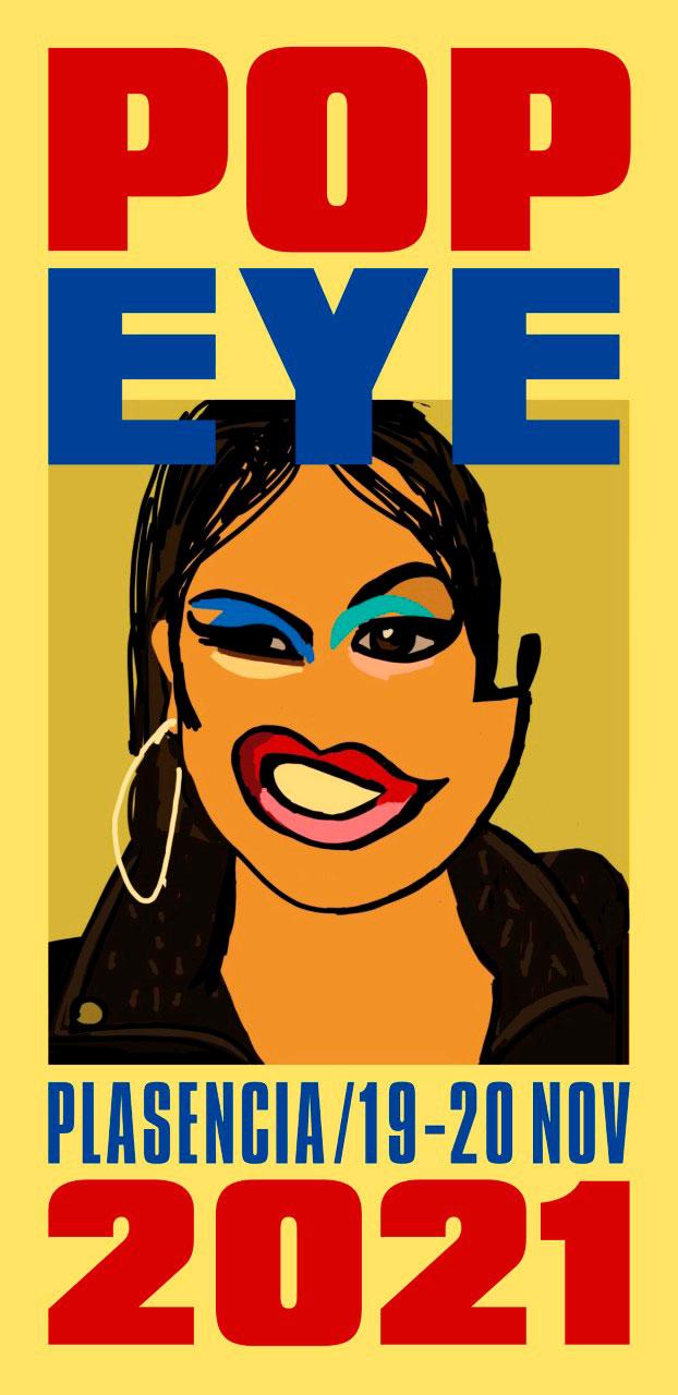Cartel de los Pop Eye 2021