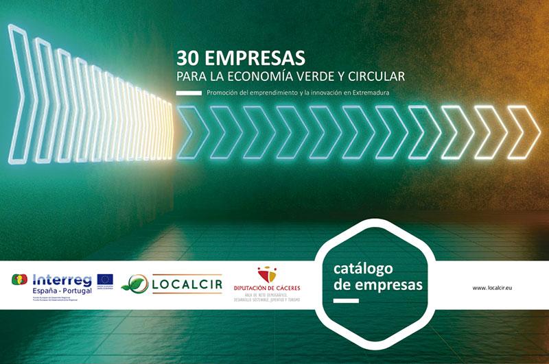 Un catálogo incluye 30 empresas 'verdes' extremeñas