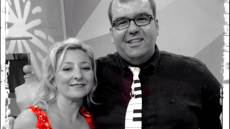 Pilar Boyero y Pedro Monty. Foto: Cedida