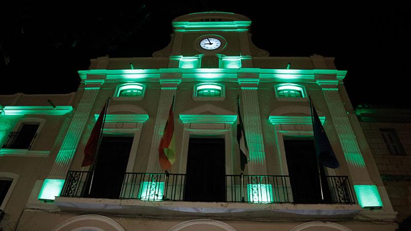 Fachada del Ayuntamiento de Mérida. Foto: Cedida