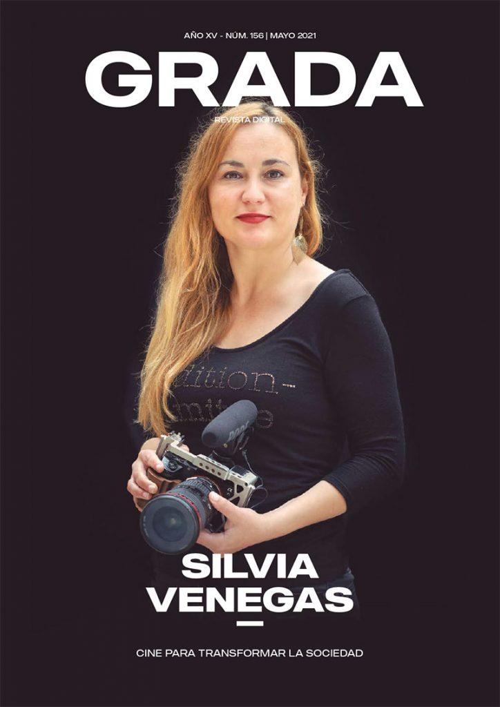 Silvia Venegas. Cine para transformar la sociedad. Grada 156. Portada