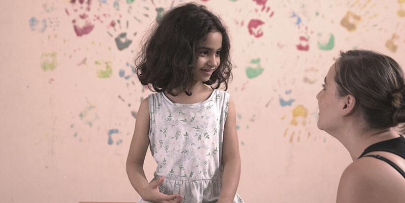 Rodaje de 'Nuestra vida como niños refugiados en Europa'. Foto: Cedida
