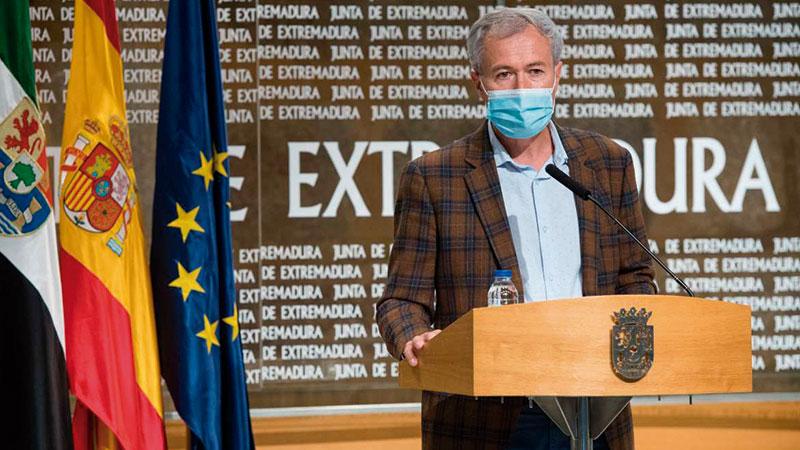 Manuel Gómez, director general de Formación Profesional y Formación para el Empleo. Foto: Junta de Extremadura