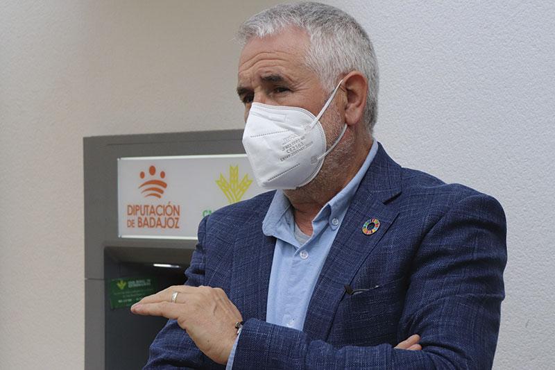 Ramiro Magro, diputado de Obras y Servicios de la Diputación de Guadalajara. Foto: Diputación de Badajoz