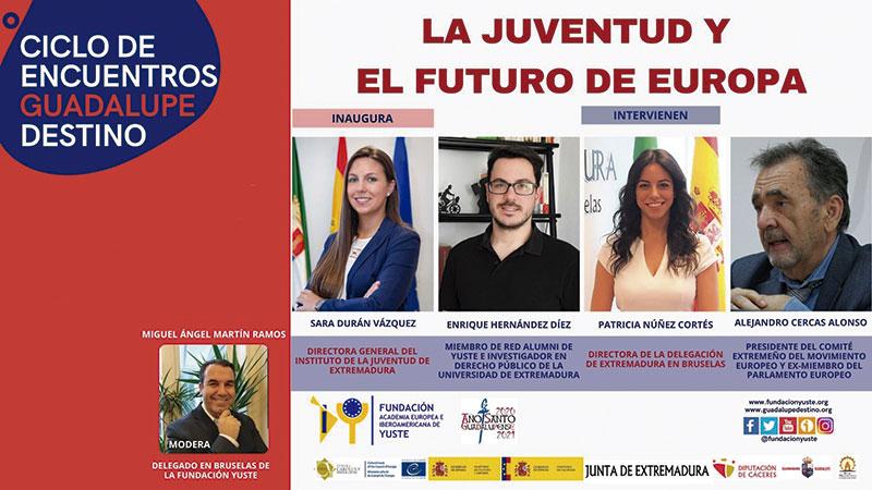 Webinario 'Juventud y el futuro de Europa'