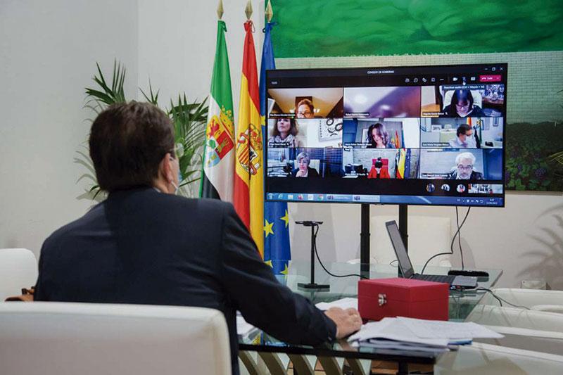 El SES pone en marcha un servicio para la rehabilitación psicosocial de personas con trastorno mental grave. Foto: Junta de Extremadura