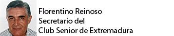 Florentino Reinosos. Secretario del Club Senior de Extremadura