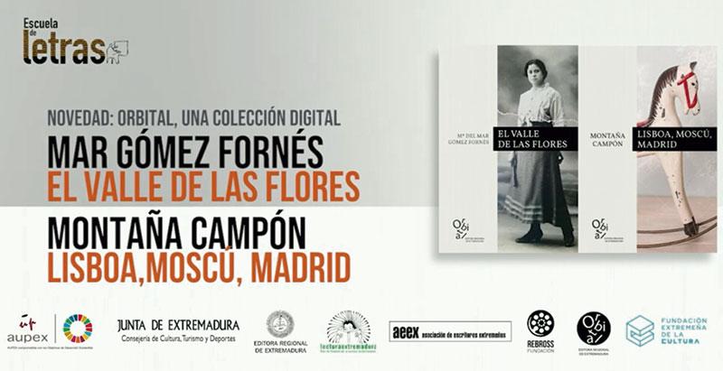 La Editora Regional de Extremadura presenta las primeras obras de su colección 'Orbital' en la Escuela de letras
