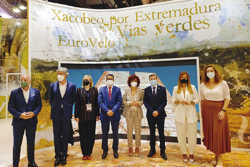 La Diputación presenta su oferta turística en Fitur. Foto: Diputación de Badajoz