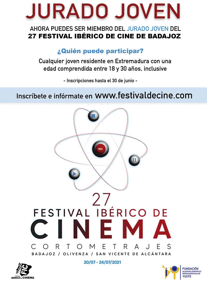 El Festival Ibérico de Cine invita a jóvenes residentes en Extremadura a formar parte de su Jurado Joven