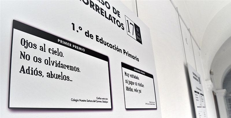 Una selección de haikus del certamen de microrrelatos '17 sílabas' llega a la Asamblea. Foto: Asamblea de Extremadura