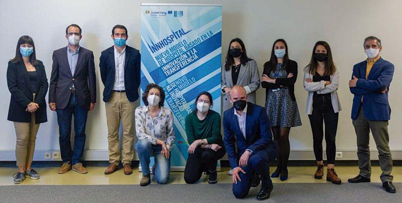 Extremadura intercambia experiencias con centros de investigación e innovación sanitaria en Coímbra. Foto: Junta de Extremadura