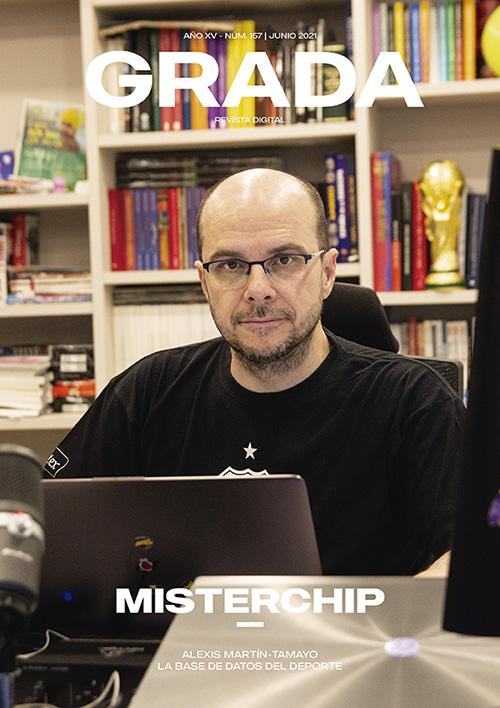 'MisterChip'. La base de datos del deporte. Grada 157. Portada