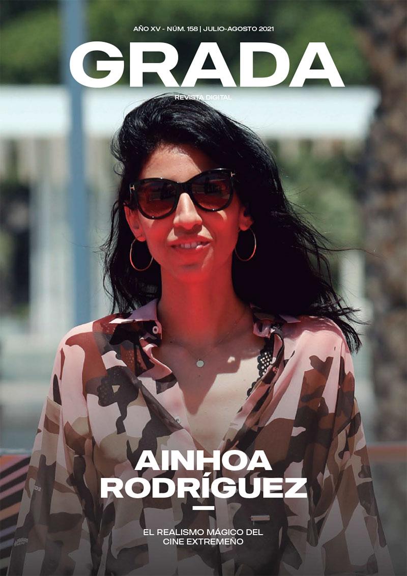 Ainhoa Rodríguez. La idiosincrasia extremeña llevada al cine. Grada 158. Portada