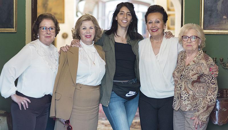 Parte del elenco de la película 'Destello bravío'. Foto: Ruby Aveldaño