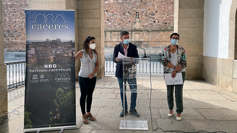 Presentación de la iniciativa. Foto: Ayuntamiento de Cáceres