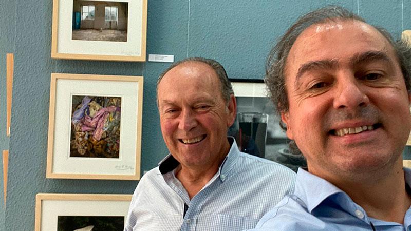 Plácido Ramírez y Miguel Ángel Gartzia. Foto: Cedida
