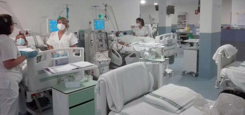 El Área de Salud de Llerena-Zafra amplía y mejora sus unidades de hemodiálisis. Foto: Junta de Extremadura