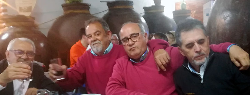 Wenceslao Zahínos, segundo por la izquierda. Foto: Cedida