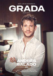 Andrés Salado. Director titular y artístico de la Orquesta de Extremadura. Grada 159. Portada