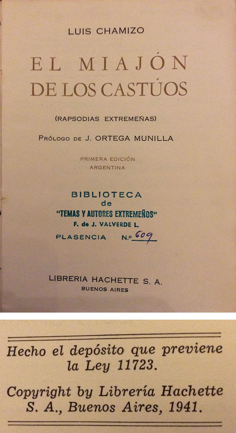 Primera edición. Argentina