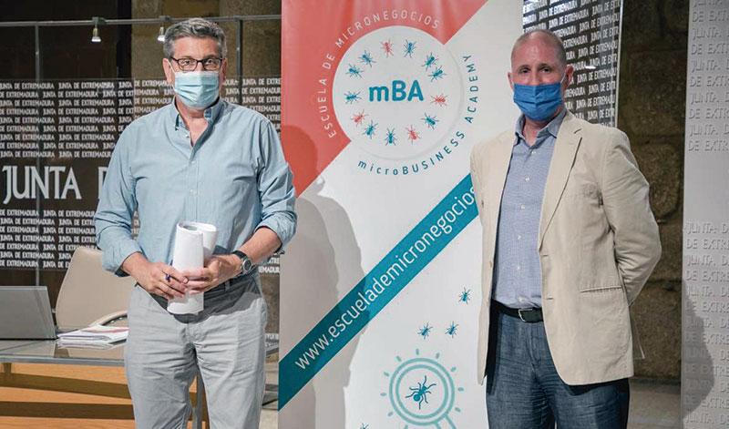 La Escuela de Micronegocios de Extremadura ayudará a 75 personas con sus proyectos de autoempleo. Foto: Junta de Extremadura