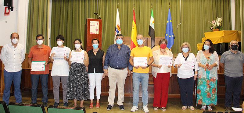 Premiados en la IV Bienal Literaria. Foto: Cedida