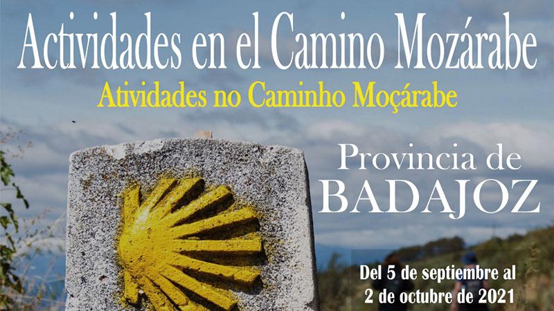 La Diputación de Badajoz propone actividades relacionadas con el Camino Jacobeo Mozárabe